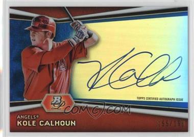 2012 Bowman Platinum - Autographed Prospects - Blue Refractor #AP-KC - Kole Calhoun /199