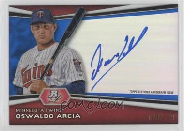 2012 Bowman Platinum - Autographed Prospects - Blue Refractor #AP-OA - Oswaldo Arcia /199