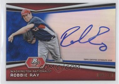 2012 Bowman Platinum - Autographed Prospects - Blue Refractor #AP-RR - Robbie Ray /199