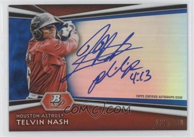 2012 Bowman Platinum - Autographed Prospects - Blue Refractor #AP-TH - Telvin Nash /199