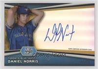 Daniel Norris #/50