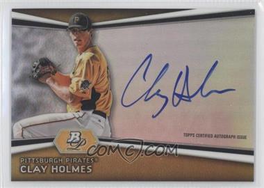 2012 Bowman Platinum - Autographed Prospects #AP-CH - Clay Holmes