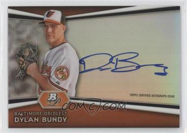 2012 Bowman Platinum - Autographed Prospects #AP-DB - Dylan Bundy