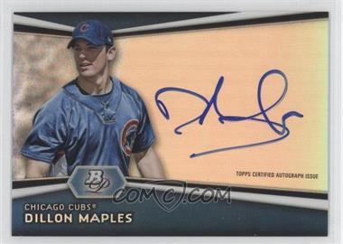 2012 Bowman Platinum - Autographed Prospects #AP-DM - Dillon Maples