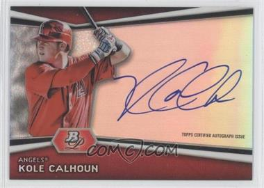 2012 Bowman Platinum - Autographed Prospects #AP-KC - Kole Calhoun