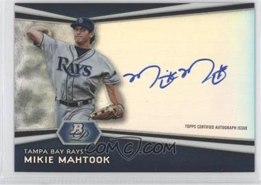 2012 Bowman Platinum - Autographed Prospects #AP-MM - Mikie Mahtook