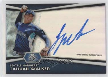 2012 Bowman Platinum - Autographed Prospects #AP-TW - Taijuan Walker