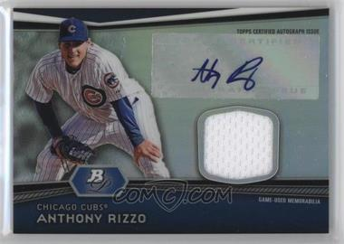 2012 Bowman Platinum - Autographed Relic #AR-AR - Anthony Rizzo