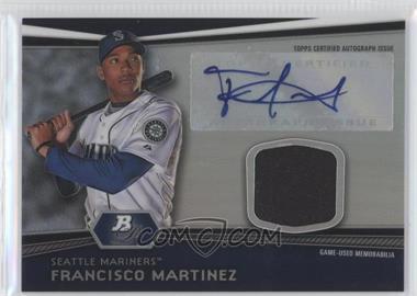 2012 Bowman Platinum - Autographed Relic #AR-FM - Francisco Martinez