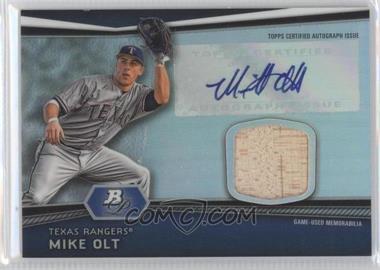 2012 Bowman Platinum - Autographed Relic #AR-MO - Mike Olt