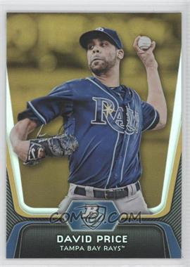 2012 Bowman Platinum - [Base] - Gold #28 - David Price
