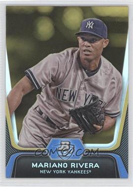 2012 Bowman Platinum - [Base] - Gold #45 - Mariano Rivera