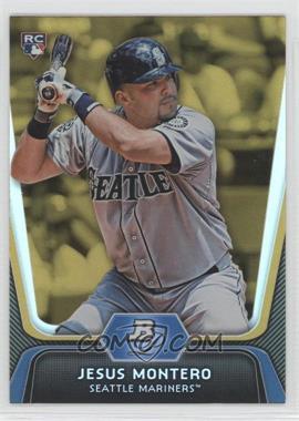 2012 Bowman Platinum - [Base] - Gold #65 - Jesus Montero