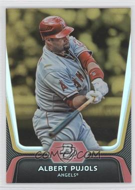 2012 Bowman Platinum - [Base] - Gold #68 - Albert Pujols