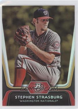 2012 Bowman Platinum - [Base] - Gold #80 - Stephen Strasburg