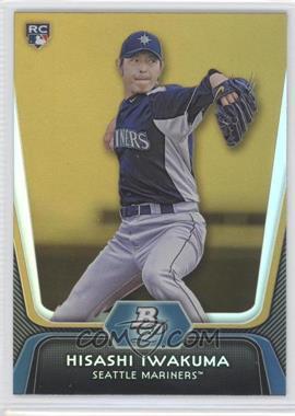 2012 Bowman Platinum - [Base] - Gold #81 - Hisashi Iwakuma