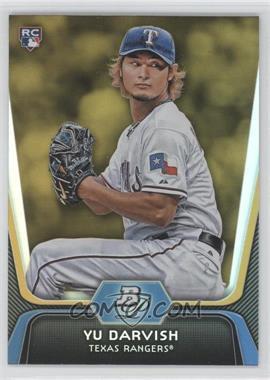 2012 Bowman Platinum - [Base] - Gold #9 - Yu Darvish