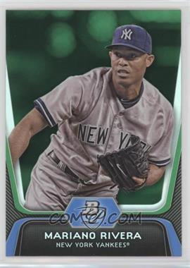 2012 Bowman Platinum - [Base] - Green #45 - Mariano Rivera