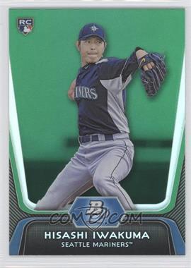 2012 Bowman Platinum - [Base] - Green #81 - Hisashi Iwakuma