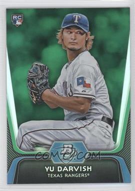 2012 Bowman Platinum - [Base] - Green #9 - Yu Darvish