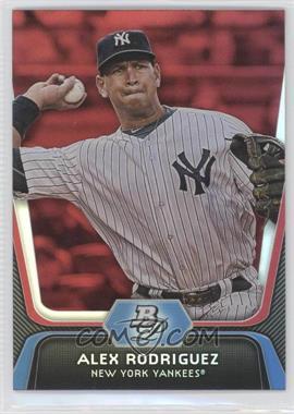 2012 Bowman Platinum - [Base] - Red #36 - Alex Rodriguez