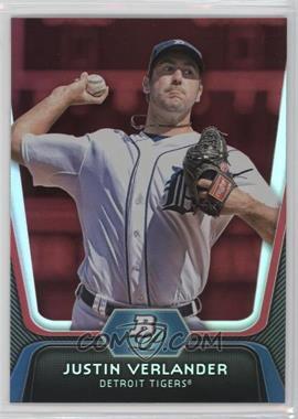 2012 Bowman Platinum - [Base] - Red #37 - Justin Verlander