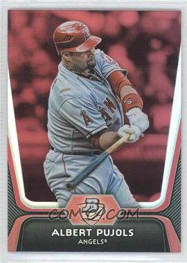 2012 Bowman Platinum - [Base] - Red #68 - Albert Pujols