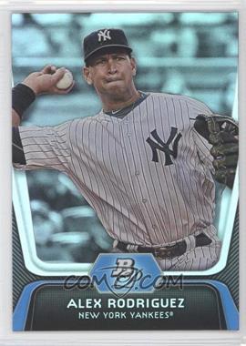 2012 Bowman Platinum - [Base] #36 - Alex Rodriguez