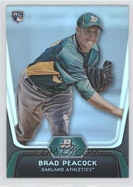 2012 Bowman Platinum - [Base] #60 - Brad Peacock
