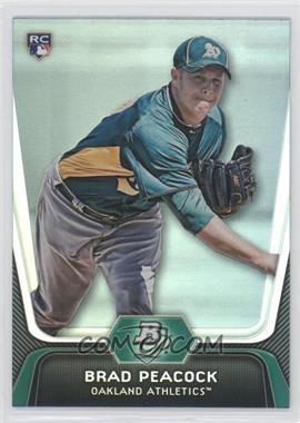2012 Bowman Platinum - [Base] #60 - Brad Peacock