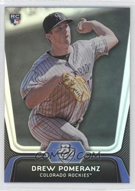 2012 Bowman Platinum - [Base] #69 - Drew Pomeranz