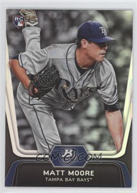 2012 Bowman Platinum - [Base] #99 - Matt Moore