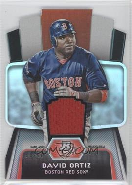 2012 Bowman Platinum - Cutting Edge Stars Die-Cut - Relics [Memorabilia] #CES-DO - David Ortiz /50