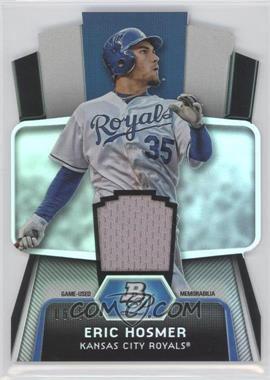 2012 Bowman Platinum - Cutting Edge Stars Die-Cut - Relics [Memorabilia] #CES-EH - Eric Hosmer /50