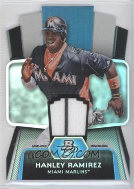 2012 Bowman Platinum - Cutting Edge Stars Die-Cut - Relics [Memorabilia] #CES-HR - Hanley Ramirez /50