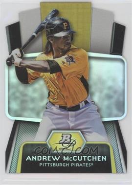 2012 Bowman Platinum - Cutting Edge Stars Die-Cut #CES-AM - Andrew McCutchen