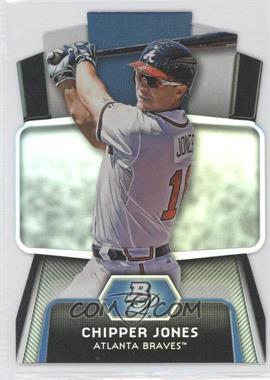 2012 Bowman Platinum - Cutting Edge Stars Die-Cut #CES-CJ - Chipper Jones