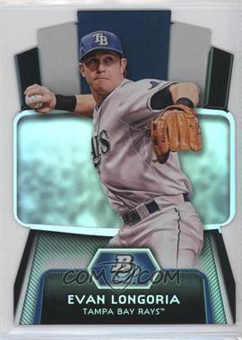 2012 Bowman Platinum - Cutting Edge Stars Die-Cut #CES-EL - Evan Longoria