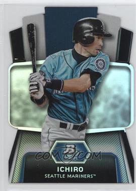 2012 Bowman Platinum - Cutting Edge Stars Die-Cut #CES-I - Ichiro Suzuki
