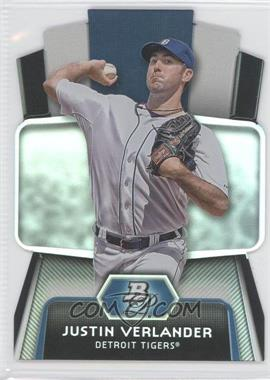 2012 Bowman Platinum - Cutting Edge Stars Die-Cut #CES-JV - Justin Verlander