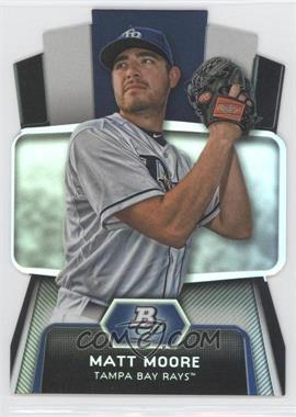 2012 Bowman Platinum - Cutting Edge Stars Die-Cut #CES-MM - Matt Moore