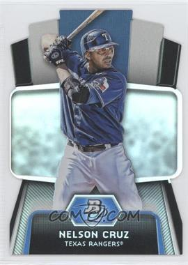 2012 Bowman Platinum - Cutting Edge Stars Die-Cut #CES-NC - Nelson Cruz