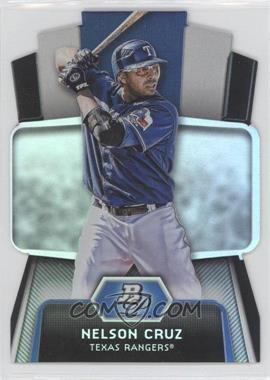 2012 Bowman Platinum - Cutting Edge Stars Die-Cut #CES-NC - Nelson Cruz