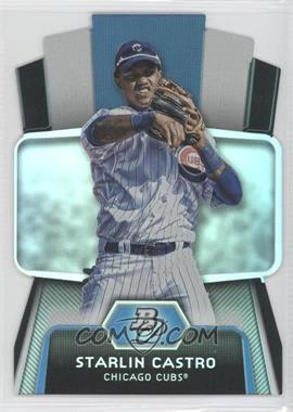 2012 Bowman Platinum - Cutting Edge Stars Die-Cut #CES-SC - Starlin Castro