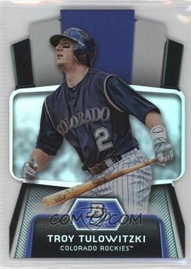 2012 Bowman Platinum - Cutting Edge Stars Die-Cut #CES-TT - Troy Tulowitzki