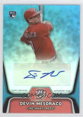 2012 Bowman Platinum - National Convention Wrapper Redemption [Base] - Platinum Blue Autographs [Autographed] #83 - Devin Mesoraco /10