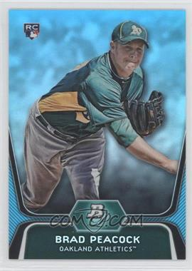 2012 Bowman Platinum - National Convention Wrapper Redemption [Base] - Platinum Blue #60 - Brad Peacock /499