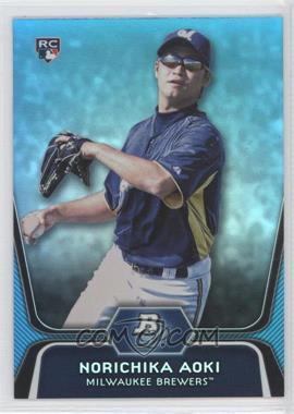 2012 Bowman Platinum - National Convention Wrapper Redemption [Base] - Platinum Blue #81 - Norichika Aoki /499