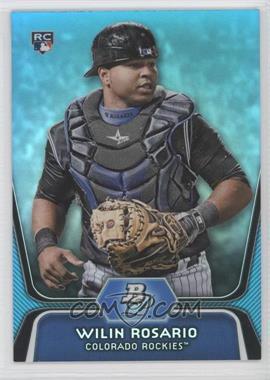 2012 Bowman Platinum - National Convention Wrapper Redemption [Base] - Platinum Blue #92 - Wilin Rosario /499