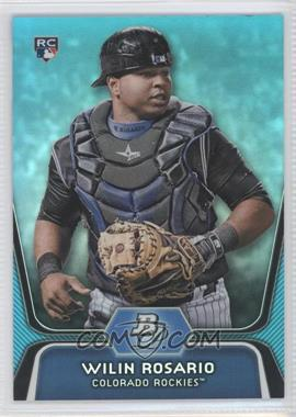 2012 Bowman Platinum - National Convention Wrapper Redemption [Base] - Platinum Blue #92 - Wilin Rosario /499